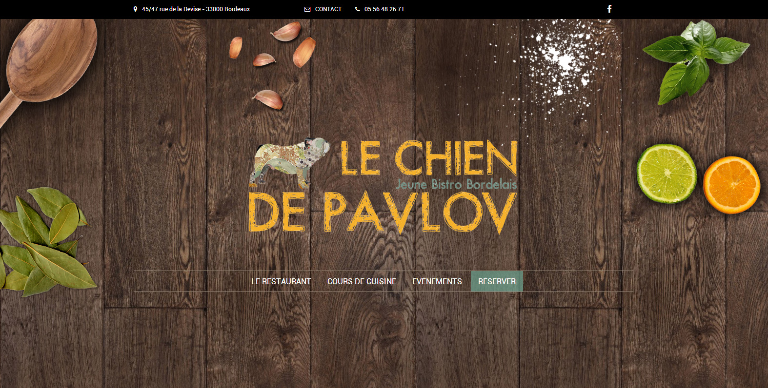 le chien de pavlov jeune bistro bordelais. Black Bedroom Furniture Sets. Home Design Ideas